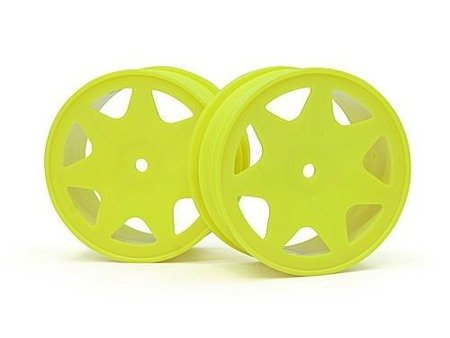 ULTRA 7 WHEELS YELLOW 30MM (2PCS)