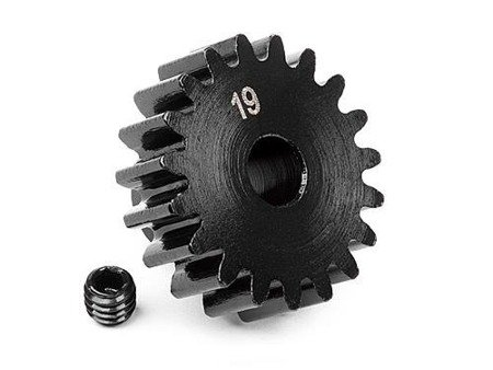 PINION GEAR 19 TOOTH (1M/5mm SHAFT)