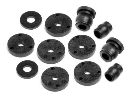 SHOCK PISTON AND BALL SET