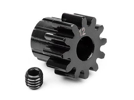 PINION GEAR 12 TOOTH (1M/5mm SHAFT)