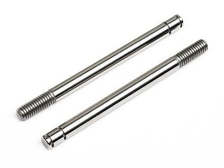 SHOCK SHAFT 3x40.5mm (SILVER/2pcs)