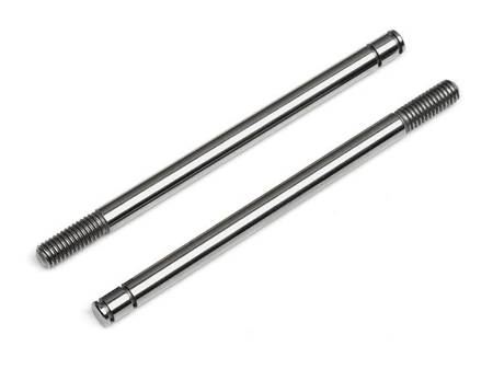 SHOCK SHAFT 3x48mm (SILVER/2pcs)