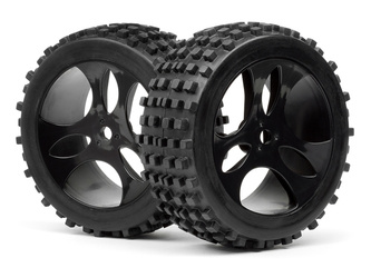Mounted Wheels and Tyres 2 Pcs (Vader XB)