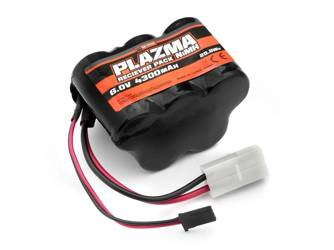 Plazma 6.0V 4300mAh NiMH Baja Reciever Battery