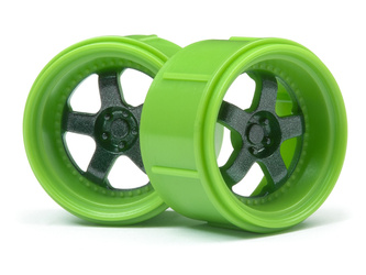 Work Meister S1 Wheel Green (Micro Rs4/4Pcs)
