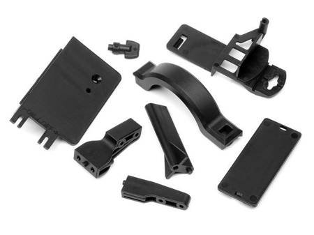 BATTERY BOX MOUNT/COVER SET