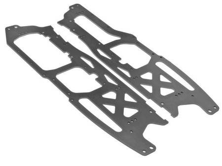MAIN CHASSIS SET 2.5mm (SAVAGE FLUX HP/GRAY)