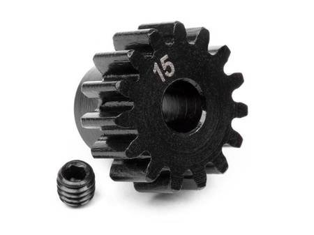 PINION GEAR 15 TOOTH (1M/5mm SHAFT)