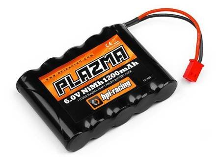 Plazma 6.0V 1200Mah Ni-Mh Micro Battery Pack