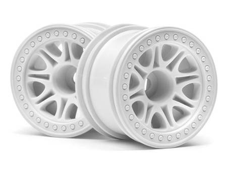 Split 8 Truck Wheel (White/2Pcs)