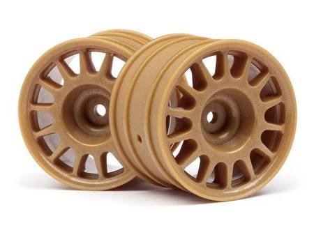 Wr8 Rally Off-Road Wheel Bronze (48X33Mm/2Pcs)